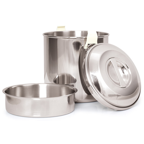 Zebra 1.5L Stainless Steel Billy
